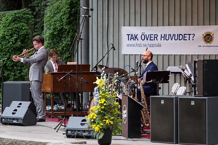 Trinity och Uppsala Storband