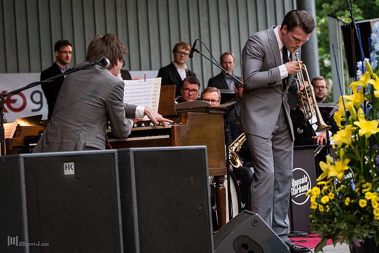 Andreas Hellkvist, Karl Olandersson och Uppsala Storband