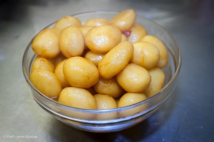 Vackra, söta potatisar.