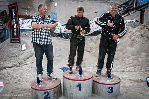 The winners in the Modified class
