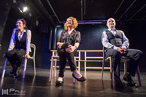 The Naked Stage - Lisa Rowland, Regina Saisi, Tim Orr