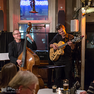 Hans Backenroth  and Erik Söderlind, Glenn Miller Café